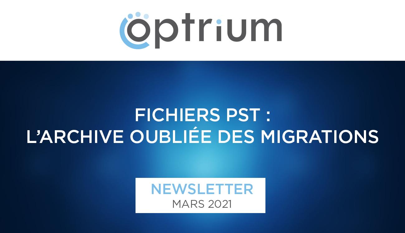 Optrium • Newsletter Mars 2021