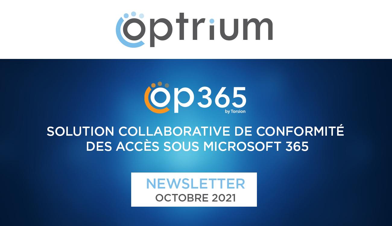 OP365, La solution efficiente de gestion de la gouvernance des données
