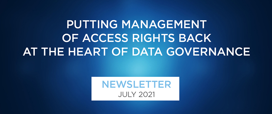 Putting management of access rights back at the heart of data governance • Optrium Newsletter